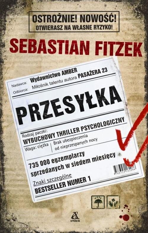 okładka Przesyłka, Książka   Fitzek Sebastian
