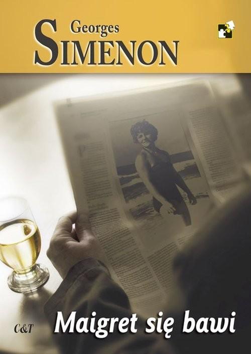 okładka Maigret się bawi, Książka | Simenon Georges