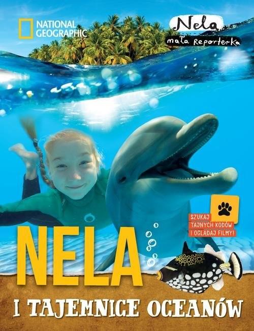 okładka Nela i tajemnice oceanów, Książka   Nela