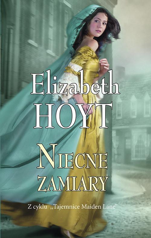 okładka Niecne zamiary, Książka | Hoyt Elizabeth