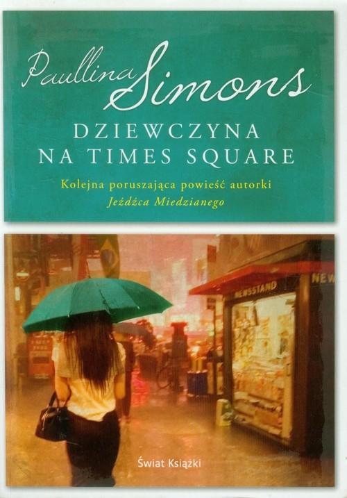 okładka Dziewczyna na Times Square, Książka | Paullina Simons