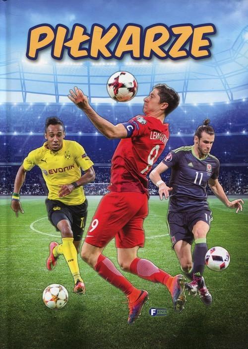 okładka Piłkarze, Książka |