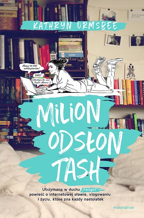 okładka Milion odsłon Tash, Książka | Kathryn Ormsbee