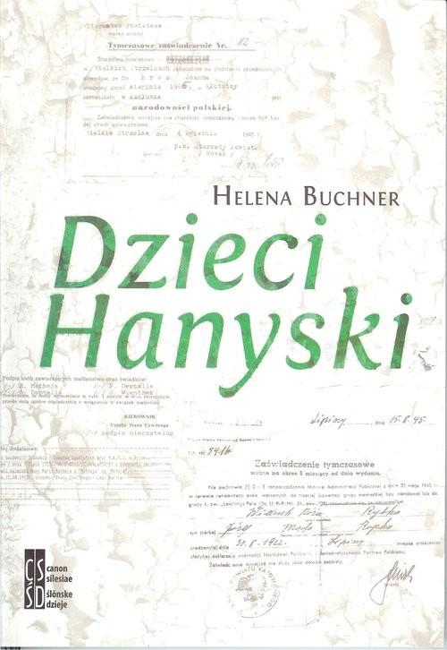 okładka Dzieci Hanyski, Książka   Buchner Helena