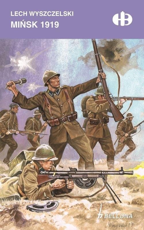 okładka Mińsk 1919, Książka   Wyszczelski Lech