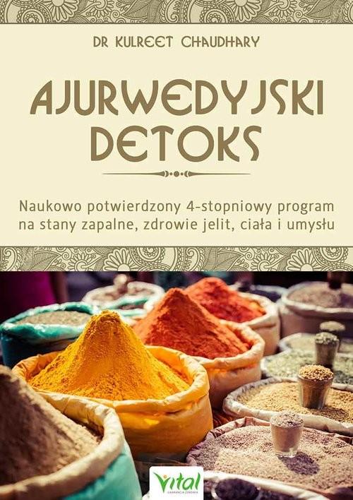 okładka Ajurwedyjski detoks, Książka | Chaudhary Kulreet