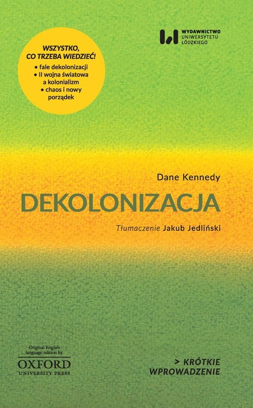okładka Dekolonizacja, Książka   Dane Kennedy