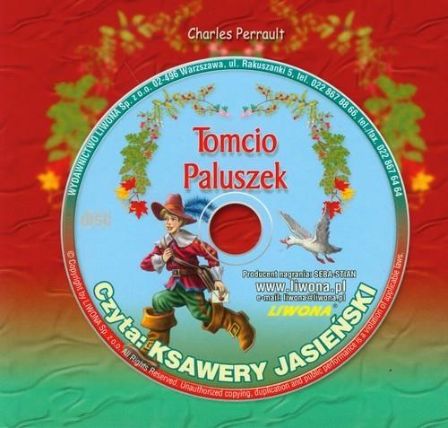 okładka Tomcio Paluszek Słuchowisko z płytą CD, Książka | Charles Perrault