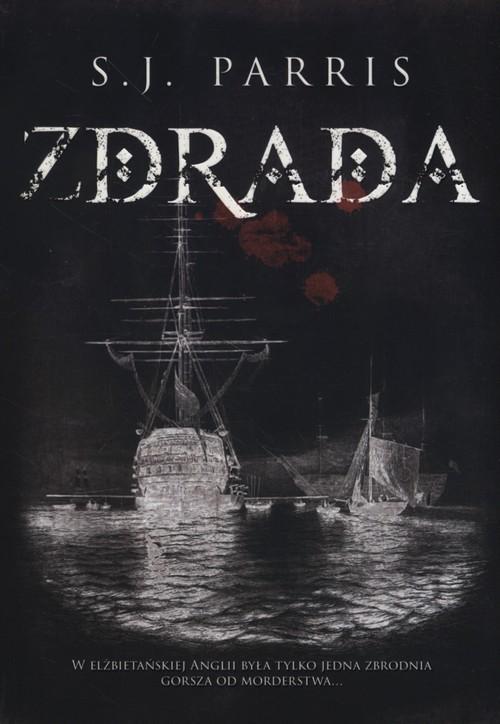 okładka Zdrada, Książka   Parris S.J.