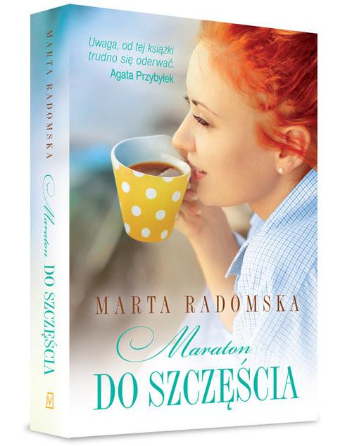 okładka Maraton do szczęścia, Książka | Marta Radomska