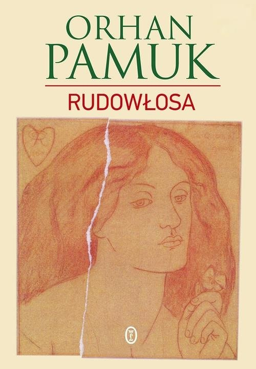 okładka Rudowłosa. KsiążkaPamuk Orhan