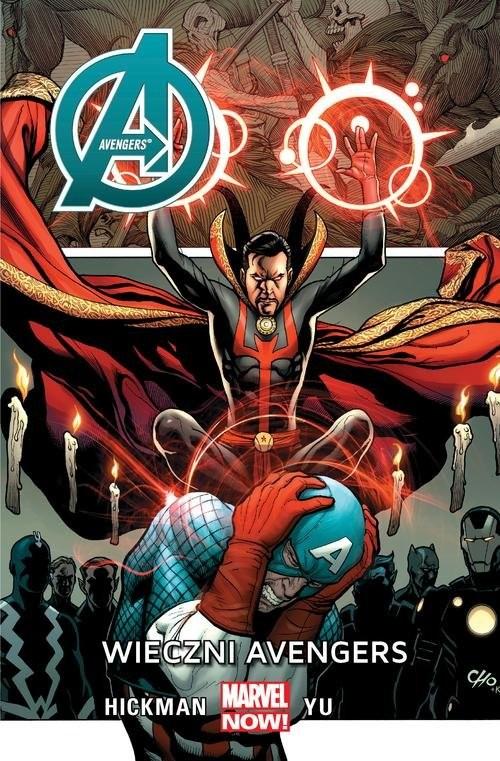 okładka Avengers Wieczni Avengersksiążka |  | Jonathan Hickman, Leynil Francis Yu