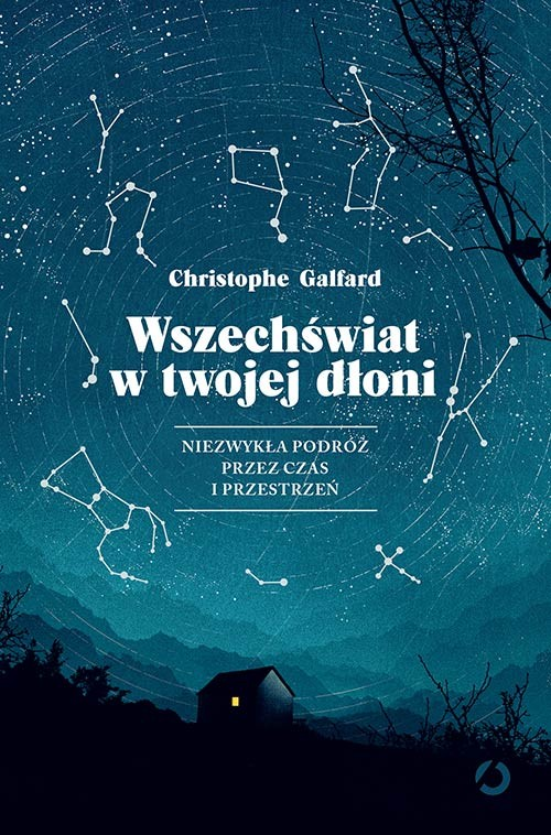 okładka Wszechświat w twojej dłoni. KsiążkaGalfard Christophe