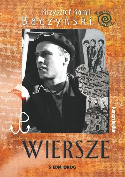 okładka Wiersze - Krzysztof Kamil Baczyński, Książka   Krzysztof Kamil Baczyński