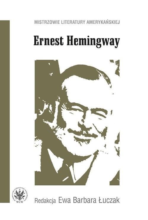 okładka Ernest Hemingway. Książka