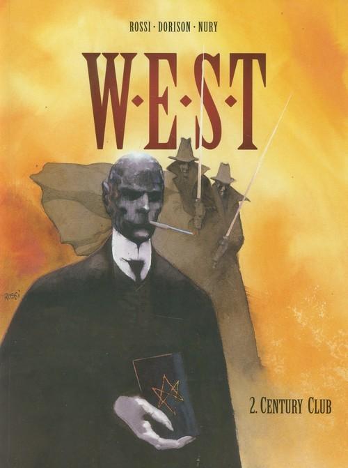 okładka West Tom 2 Centrum club, Książka | Xavier Dorison, Fabien Nury