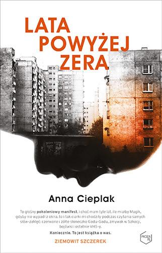 okładka Lata powyżej zera, Książka | Cieplak Anna
