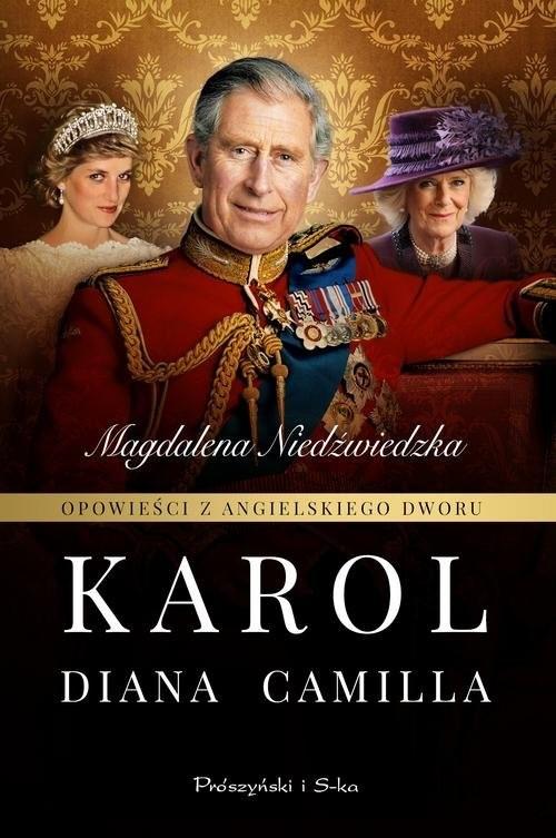 okładka Opowieści z angielskiego dworu Karol, Książka | Magdalena Niedźwiedzka