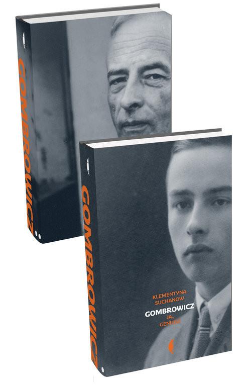 okładka Gombrowicz Ja, geniuszksiążka      Klementyna Suchanow