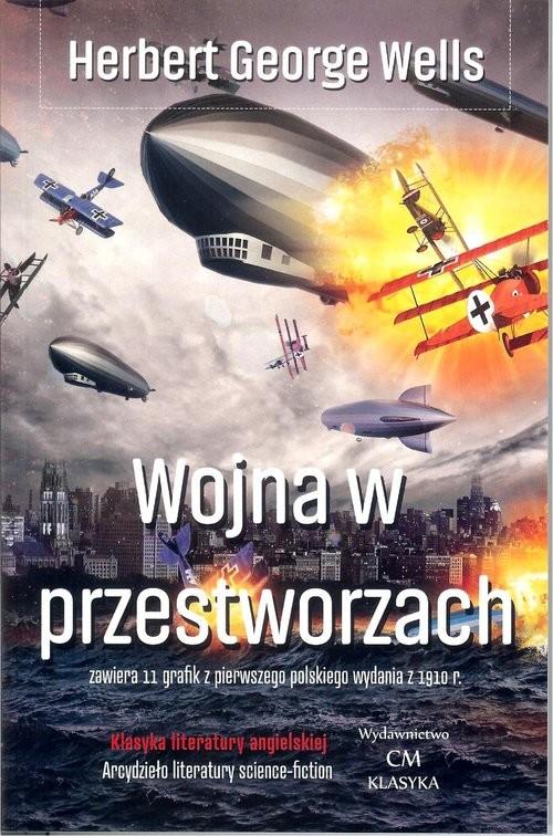 okładka Wojna w przestworzach, Książka | Herbert George Wells