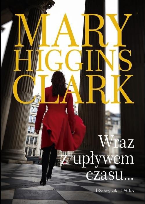okładka Wraz z upływem czasu, Książka | Mary Higgins Clark