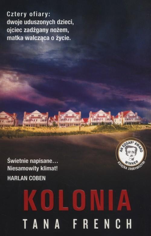 okładka Kolonia, Książka   French Tana