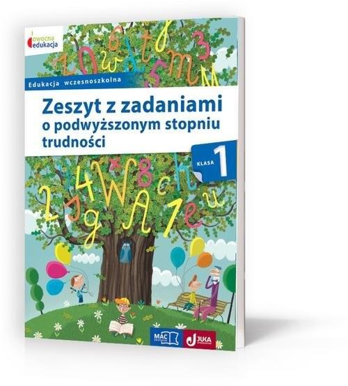 okładka Owocna edukacja 1 Zeszyt z zadaniami o podwyższonym stopniu trudności Edukacja wczesnoszkolnaksiążka     