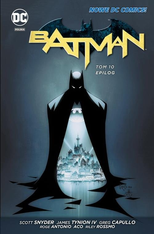 okładka Batman Tom 10 Epilog, Książka | Scott Snyder, James Tynion IV, Ray Fawkes, Cap