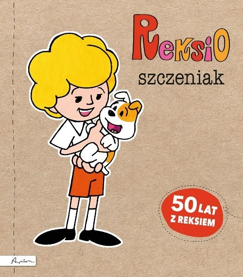 okładka Reksio szczeniak, Książka | Fabisińska Liliana