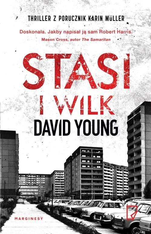 okładka Stasi i wilk, Książka | David Young
