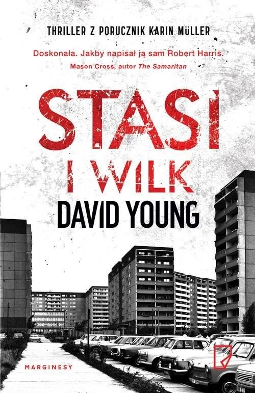 okładka Stasi i wilkksiążka      David Young