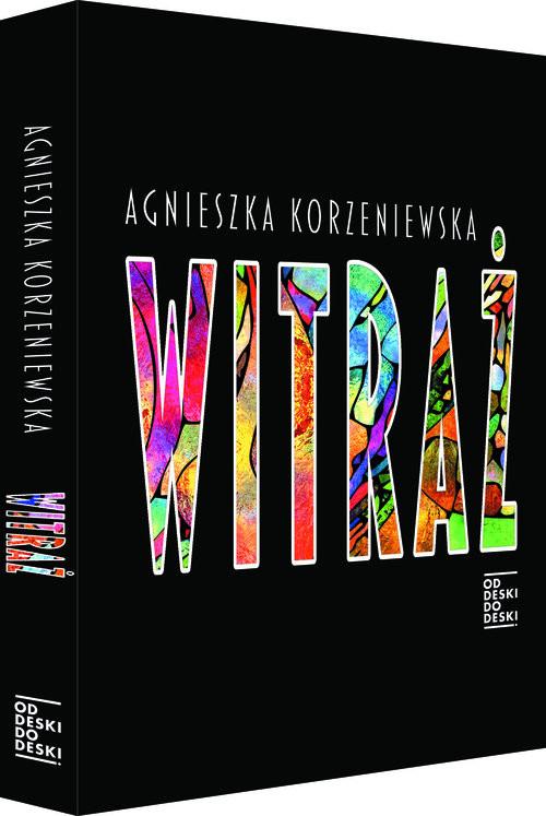 okładka Witraż, Książka | Korzeniewska Agnieszka