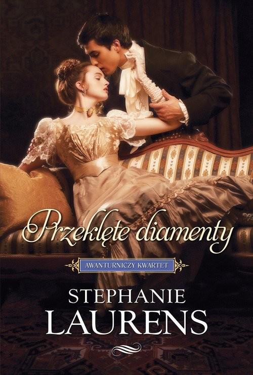 okładka Przeklęte diamenty, Książka | Laurens Stephanie
