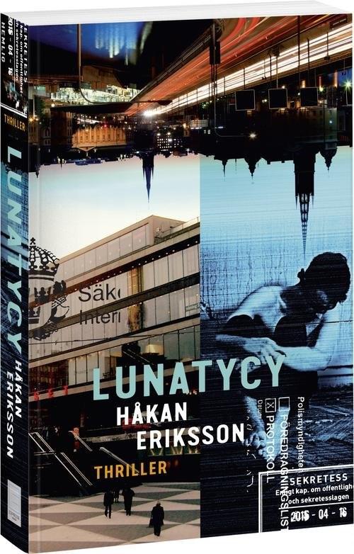 okładka Lunatycy, Książka | Eriksson Hakan