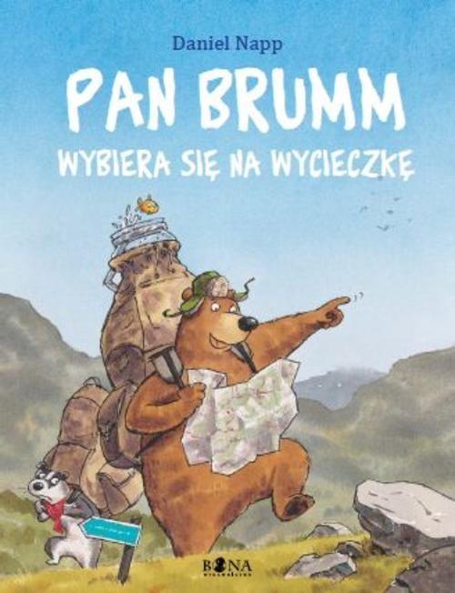 okładka Pan Brumm wybiera się na wycieczkę, Książka | Napp Daniel