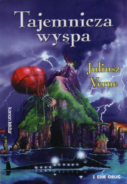 okładka Tajemnicza wyspa, Książka   Juliusz Verne
