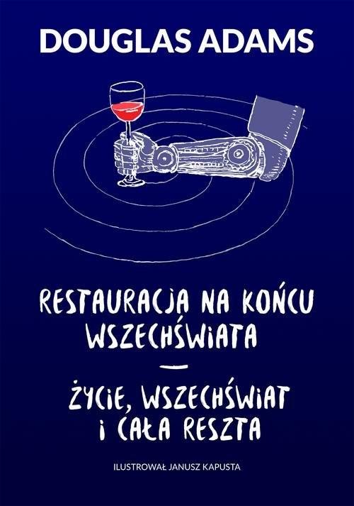 okładka Restauracja na końcu wszechświata Życie wszechświat i cała reszta, Książka | Adams Douglas
