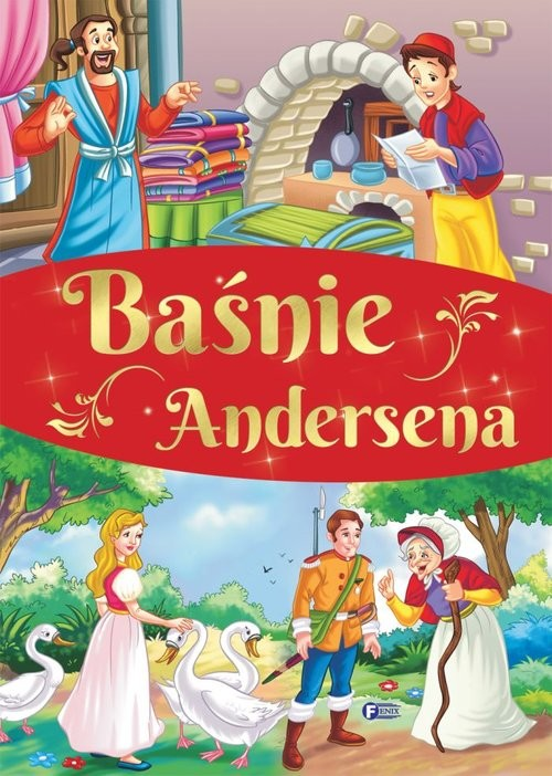 okładka Baśnie Andersena, Książka  