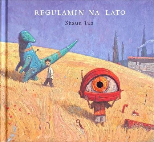 okładka Regulamin na lato, Książka   Tan Shaun