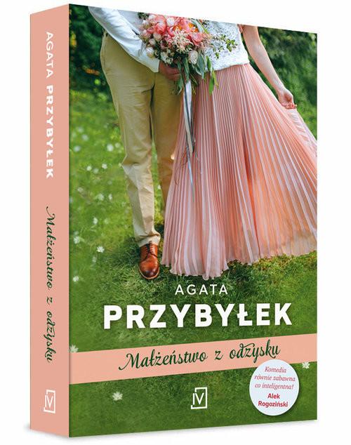 okładka Małżeństwo z odzysku, Książka | Przybyłek Agata