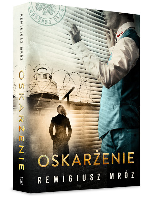 okładka Oskarżenie, Książka | Mróz Remigiusz