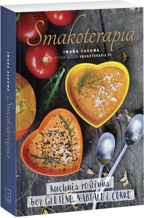 okładka Smakoterapia, Książka | Zasuwa Iwona
