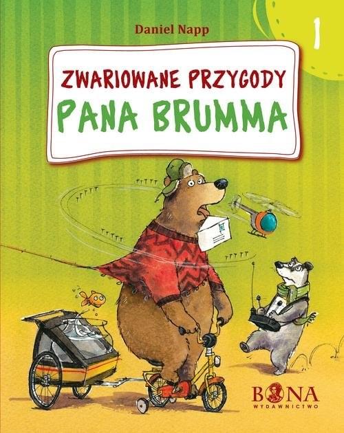 okładka Zwariowane przygody Pana Brumma, Książka | Napp Daniel