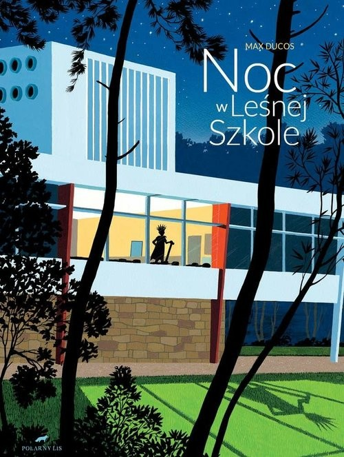 okładka Noc w leśnej szkole, Książka | Ducos Max