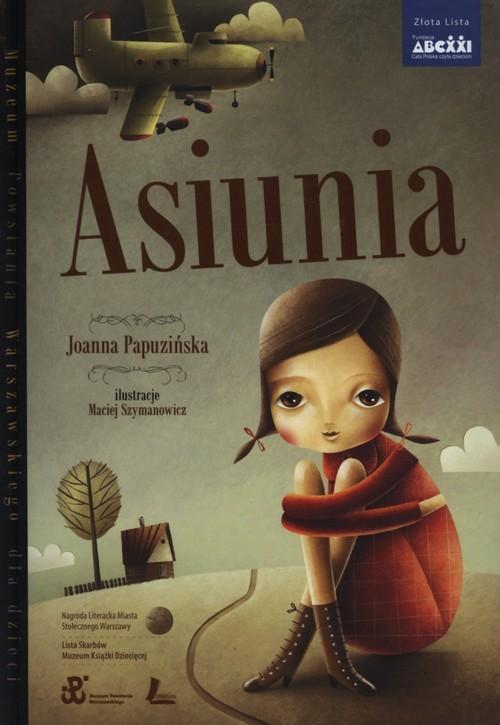 okładka Asiunia, Książka | Papuzińska Joanna