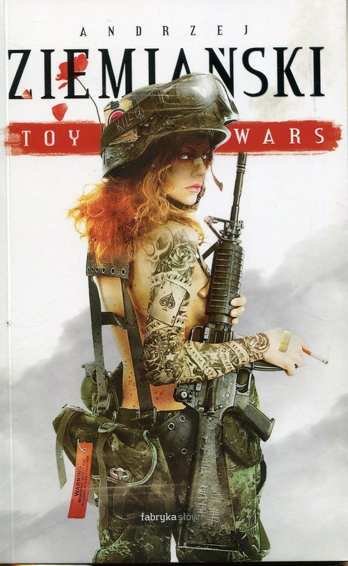 okładka Toy Wars, Książka | Ziemiański Andrzej