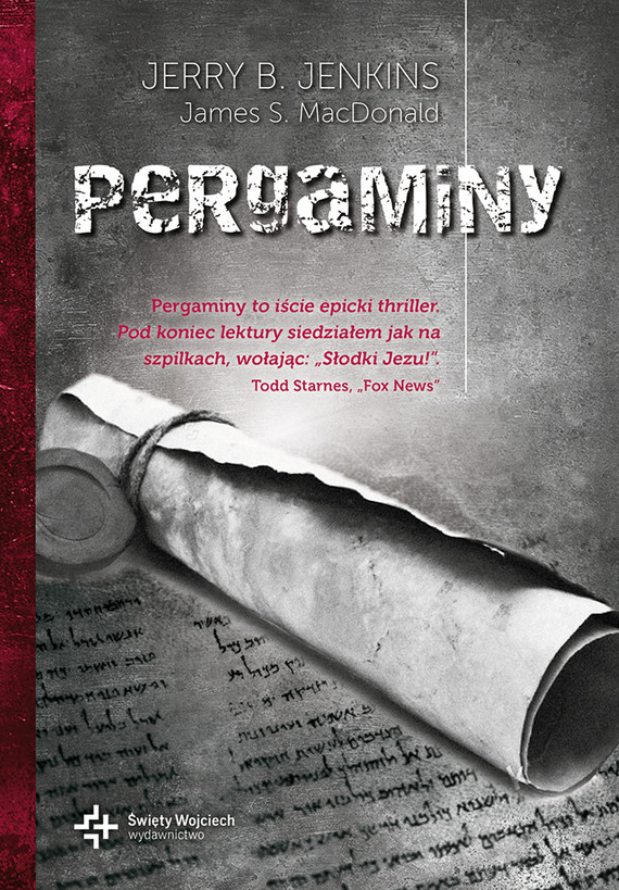 okładka Pergaminy, Książka | Jenkins Jerry
