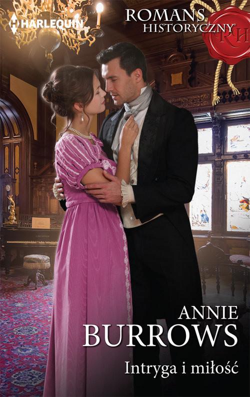 okładka Intryga i miłość, Książka | Annie Burrows
