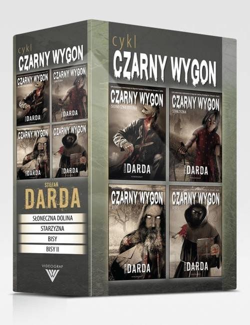 okładka Czarny Wygon Pakiet, Książka | Darda Stefan