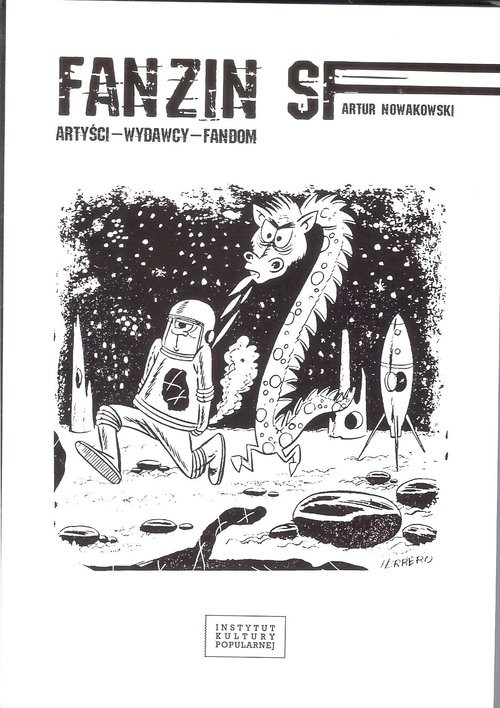 okładka Fanzin SF Artyści wydawcy fandom, Książka | Nowakowski Artur